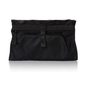 Lululemon Sweaty Or Not Kit Wristlet Pouch Black